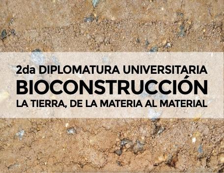 Diplomatura universitaria sobre bioconstrucción