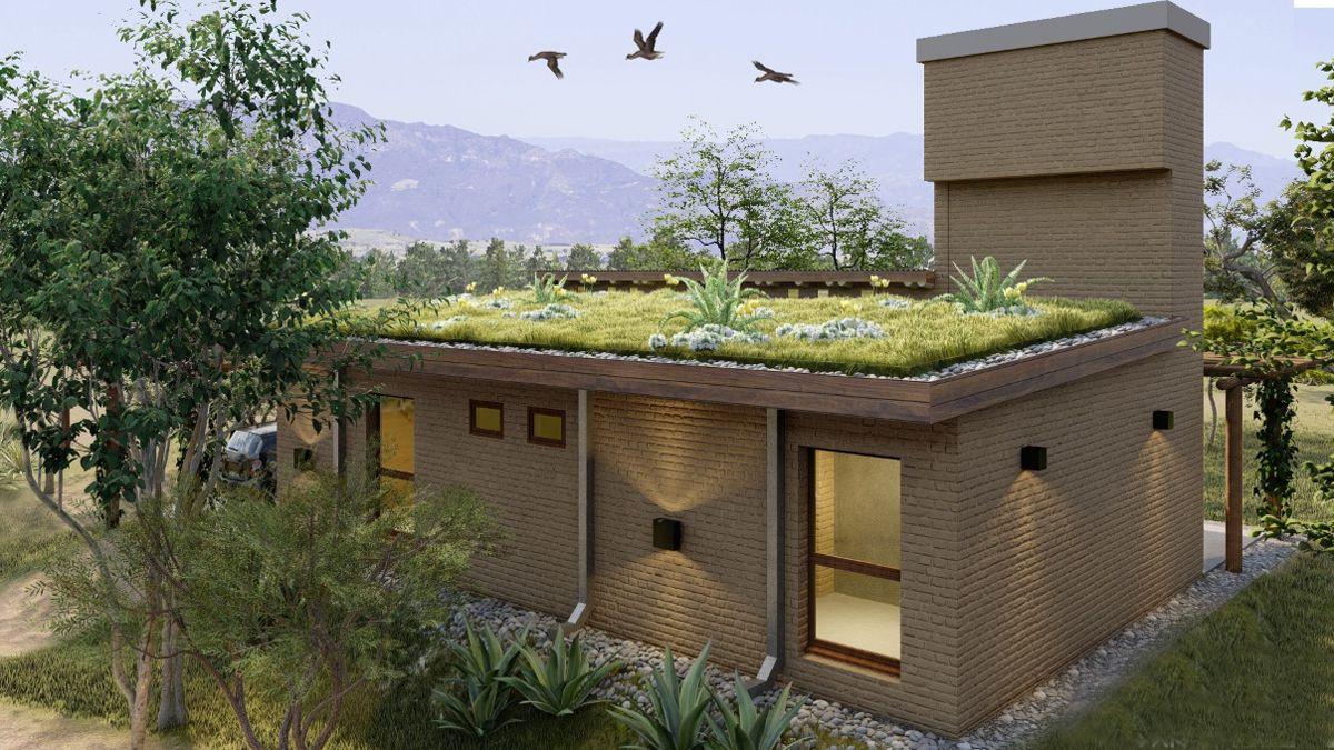 La vigencia del adobe en una vivienda cordobesa