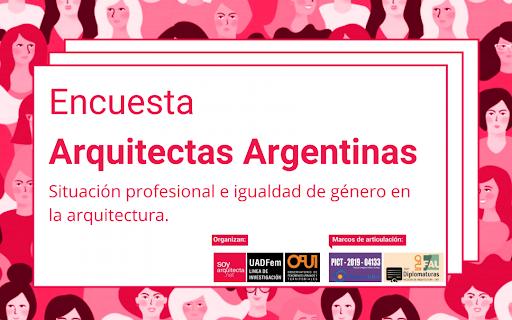 Encuesta Arquitectas Argentinas