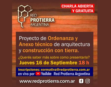 Charla abierta, Proyecto de ordenanza de construcción con tierra